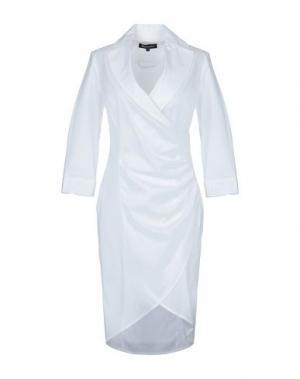 Короткое платье AQUASCUTUM. Цвет: белый