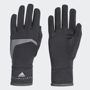 Перчатки для бега COLD.RDY by Stella McCartney adidas. Цвет: черный