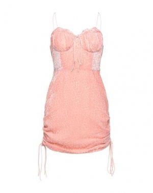 Короткое платье GLAMOROUS. Цвет: розовый