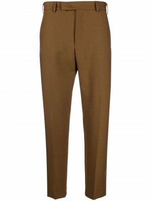 Узкие брюки чинос Pt01. Цвет: коричневый