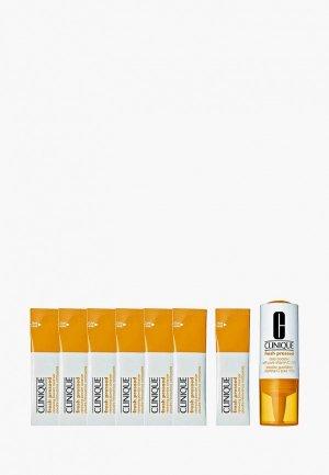 Набор для ухода за лицом Clinique Недельная система кожей с содержанием чистого Витамина Fresh Pressed 7-Day System with Pure Vitamin C. Цвет: прозрачный