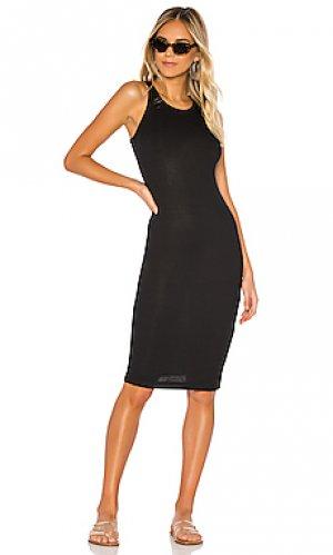 Платье-майка tank Splendid. Цвет: черный