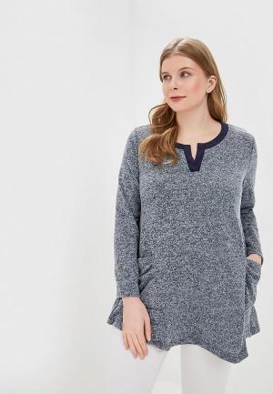 Пуловер Forus. Цвет: серый