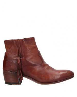 Полусапоги и высокие ботинки ALBERTO FASCIANI. Цвет: желто-коричневый