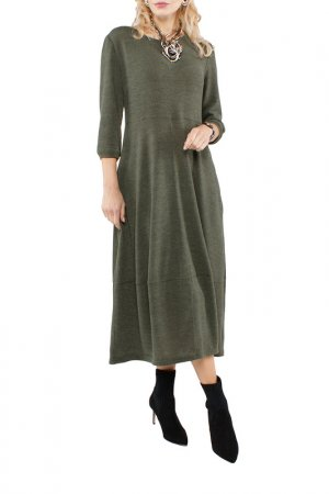Платье Kata Binska. Цвет: болотный