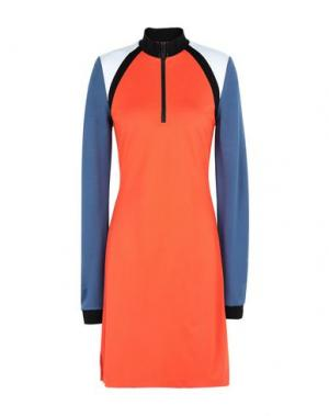 Короткое платье 2ND DAY. Цвет: оранжевый