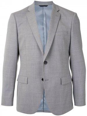 Durban однобортный пиджак узкого кроя D'urban. Цвет: серый