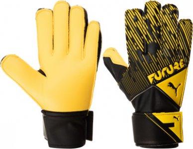 Перчатки вратарские Puma Future, размер 10. Цвет: желтый