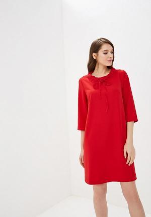 Платье AlexandraKazakova. Цвет: красный