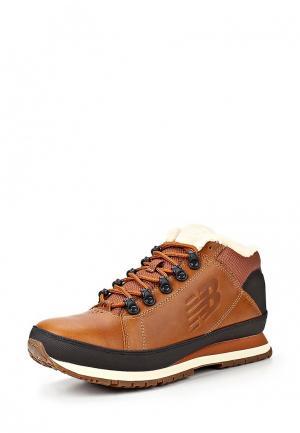 Ботинки New Balance H754. Цвет: коричневый