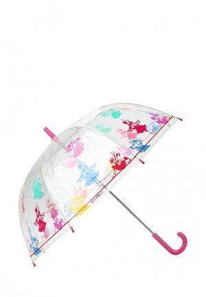 Зонт складной Flioraj. Цвет: белый