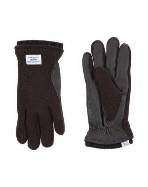 Перчатки NORSE PROJECTS. Цвет: темно-коричневый