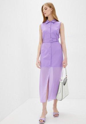 Платье Kira Plastinina. Цвет: фиолетовый