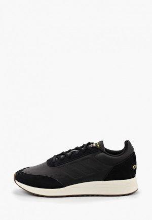 Кроссовки adidas RUN70S. Цвет: черный
