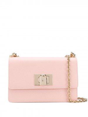 Сумка через плечо 1927 Furla. Цвет: розовый