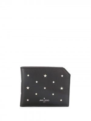 Декорированный бумажник Albany Jimmy Choo. Цвет: черный