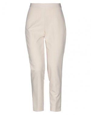 Повседневные брюки KARTIKA. Цвет: слоновая кость