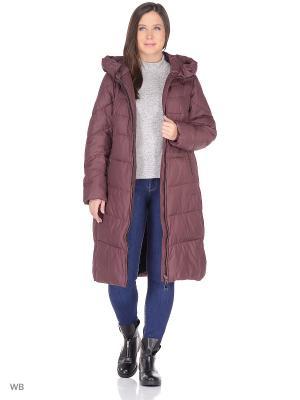 Куртка Clasna. Цвет: бордовый