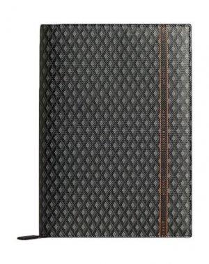 Записная книжка DUNHILL. Цвет: стальной серый