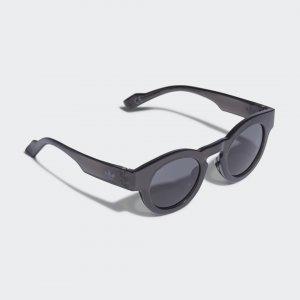 Очки солнцезащитные AOG005 Originals adidas. Цвет: черный