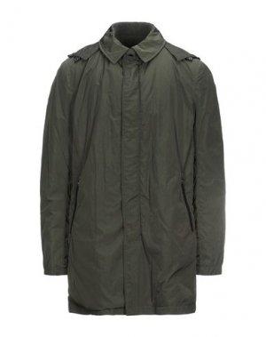 Куртка ADHOC. Цвет: темно-зеленый