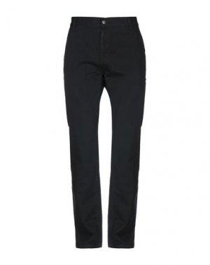 Повседневные брюки ETNIES. Цвет: черный