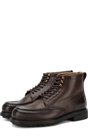 Кожаные ботинки Tom Ford. Цвет: коричневый