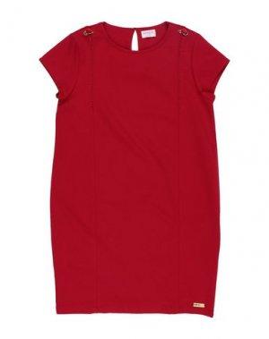 Платье EAN 13. Цвет: кирпично-красный