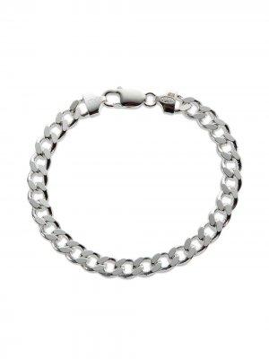 Cuban-chain bracelet Hatton Labs. Цвет: серебристый