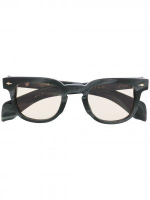 Солнцезащитные очки Jax Jacques Marie Mage. Цвет: серый
