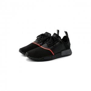 Кроссовки NMD_R1 adidas Originals. Цвет: чёрный