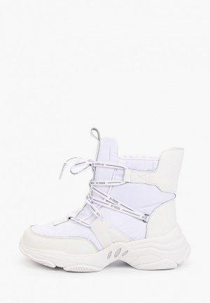 Ботинки Escan. Цвет: белый