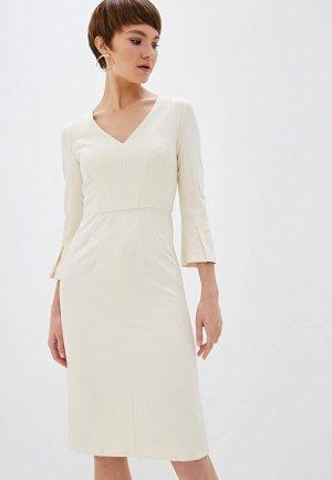 Платье Beatrice.B. Цвет: бежевый