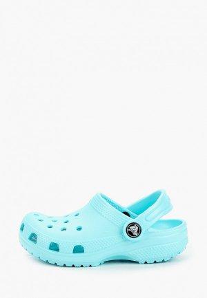 Сабо Crocs Classic Clog K. Цвет: голубой