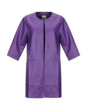 Легкое пальто JIJIL. Цвет: фиолетовый