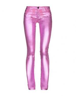 Повседневные брюки 75 FAUBOURG. Цвет: светло-фиолетовый