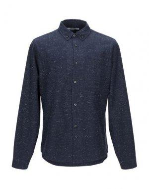 Pубашка BELLFIELD. Цвет: синий
