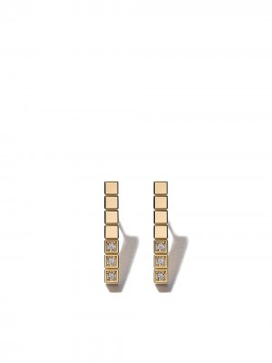 18kt yellow gold Ice Cube Pure diamond earrings Chopard. Цвет: fairmined yellow gold