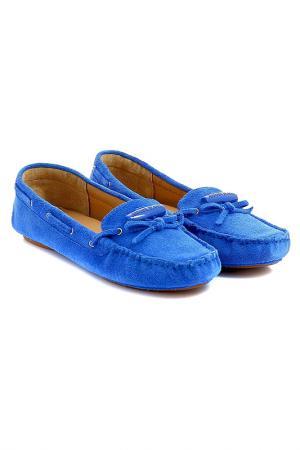 Мокасины Armani Jeans. Цвет: синий