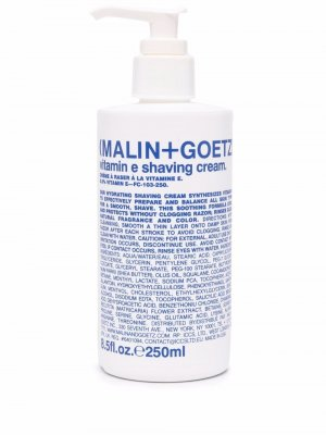 Крем для бритья Vitamin E (250 мл) MALIN+GOETZ. Цвет: белый