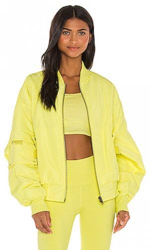 Куртка it girl alo. Цвет: желтый