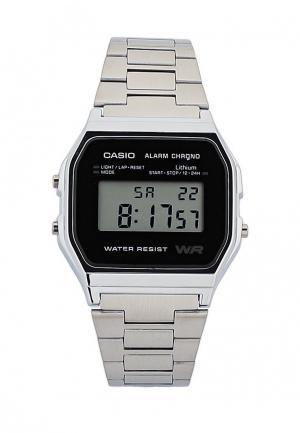 Часы Casio Collection A-158WEA-1E. Цвет: серебряный