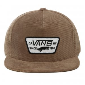 Кепка Full Patch Snapback VANS. Цвет: коричневый