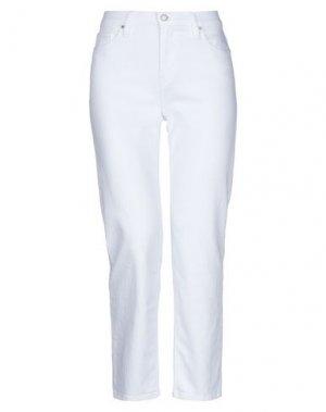 Повседневные брюки HUDSON. Цвет: белый