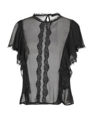 Блузка BLACK LABEL. Цвет: черный