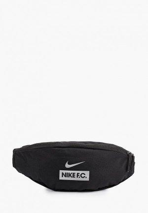 Сумка поясная Nike NK FC HIP PACK - HO21. Цвет: черный
