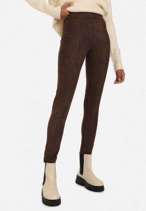 Леггинсы Gloria Jeans. Цвет: коричневый
