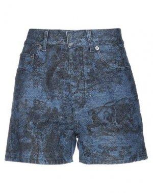 Джинсовые шорты DIOR. Цвет: синий