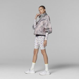 Куртка-анорак by Stella McCartney Future Playground adidas. Цвет: черный