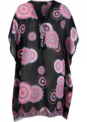 Платье-туника bonprix. Цвет: черный